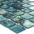 Mosafil Glas Mosaik Fliesen Perlmutt Effekt Grün