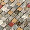Mosafil Glas Naturstein Mosaik Fliesen Mix
