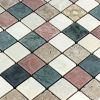 Mosafil Naturstein Marmor Mosaik Fliese Cotto