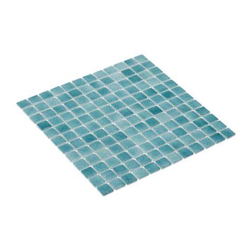 Mosaixx Mosaikfliese aus Glas Türkis