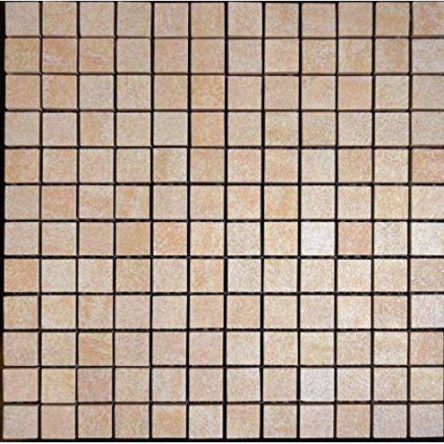 Mosako Feinsteinzeug Mosaik R11 beige mix