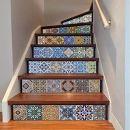 Multicolor cabin Treppen Aufkleber