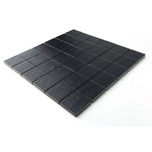 Mosaik Schiefer schwarz