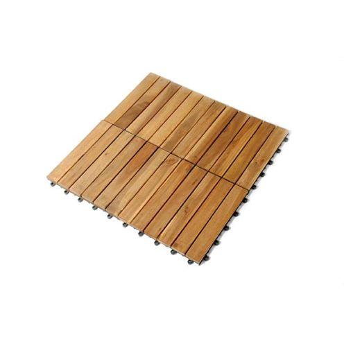 Sam Holz-Fliese aus Akazie Fliese 01