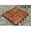 Sam Terrassenfliese 02 Akazien-Holz