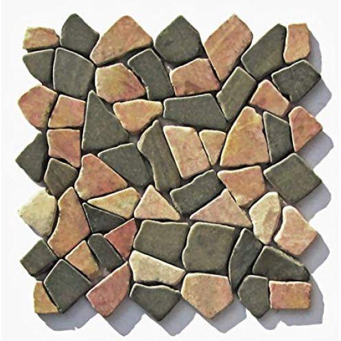 Stein-Mosaik M-007 Marmor