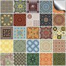 Tile Style Decals Fliesenaufkleber für Küche und Bad