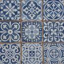 Casa Moro Mediterrane Patchwork Fliesen Rahel Blau